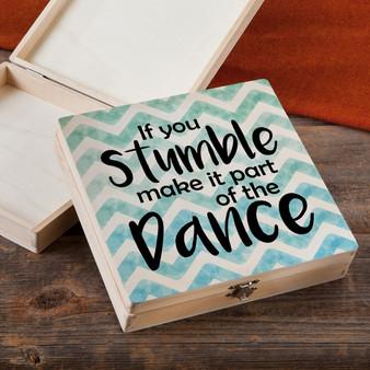 If You Stumble - Wood Gift Box