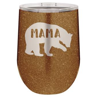 Mama Bear - Stemless Tumbler