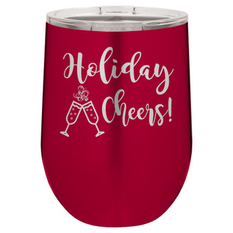 Holiday Cheers - Stemless Tumbler