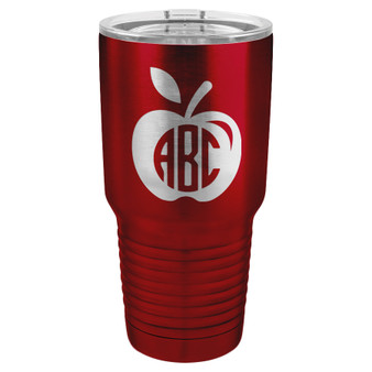 Apple Monogram - 20 & 30 oz Tumbler