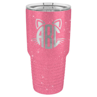 Cat Monogram - 20 & 30 oz Tumbler