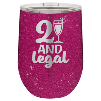 21 and Legal - Stemless Tumbler