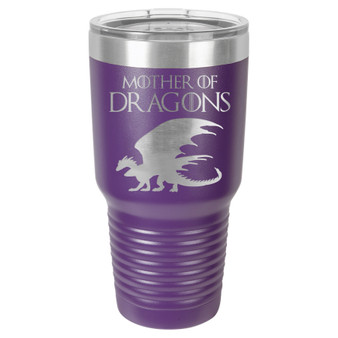 Mom of Dragons - 20 & 30 oz Tumbler