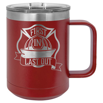First In Last Out - 15 oz Coffee Mug