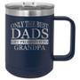 Promoted to Grandpa - 15 oz Coffee Mug