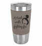 A Drink Worth Fighting For - 20 oz Leatherette Tumbler