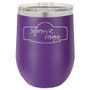 Custom Logo - Stemless Wine Tumbler