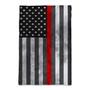 Thin Red Line - Garden Flag