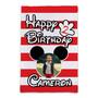 Custom Mickey Mouse Birthday - Garden Flag