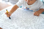 Love You to the Moon and Back - Giant Coloring Poster