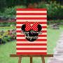 Minnie Mouse - Custom Signature Board