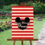 Mickey Mouse - Custom Signature Board