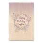 Purple Floral Crystals - Custom Signature Board