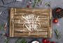 Home Sweet Home - Noodle Board Stove Top Cover