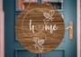 Honey Bee Home - Door & Wall Hanger