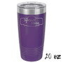 Dreaming of a Wine Christmas - 20 & 30 oz Tumbler