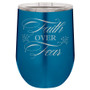 Faith Over Fear - Stemless Tumbler