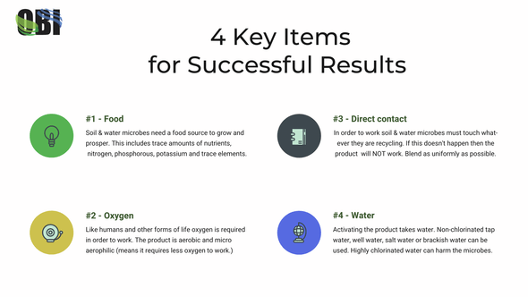 4 items for success