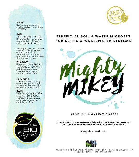mighty mikey label