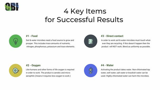 4 keys for success