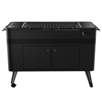 Everdure HUB II 54-Inch Charcoal Grill with Rotisserie & Electronic Ignition - HBCE3BUS