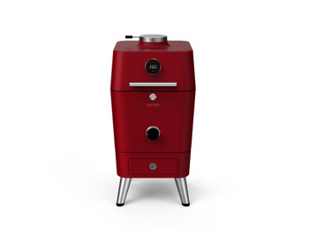 Everdure 4K 21-Inch Charcoal Grill & Smoker - Red - HBCE4KRUS