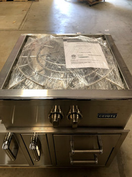 S&D | Coyote C1PBNG Built-In Natural Gas High Performance Power Burner