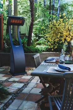 Bromic Heating Tungsten Smart-Heat 38,500 BTU Propane Gas Freestanding Portable Patio Heater - BH0510001