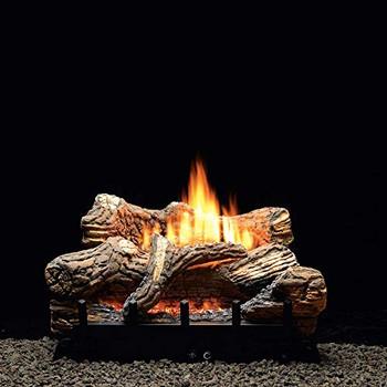 7-piece 30-Inch Millivolt Ceramic Fiber Natural Gas