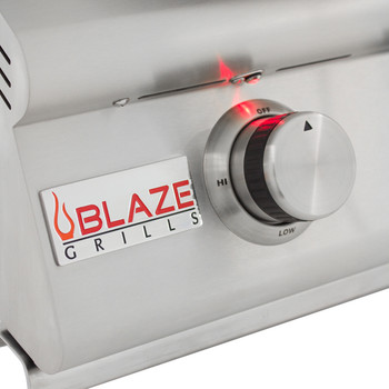 Blaze 4 Burner LTE Grill Built-In Natural Gas Grill with Lights - BLZ-4LTE2-NG