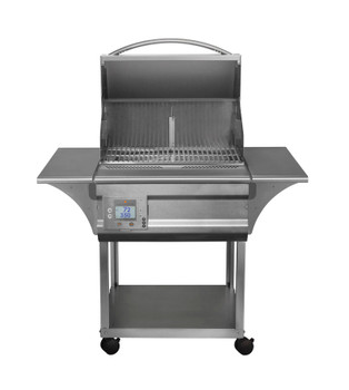 Memphis Grills Advantage Wi-Fi Controlled 26-Inch 430 Stainless Steel Pellet Grill - VG0050S4