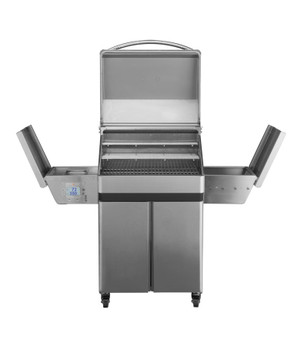 Memphis Grills Pro Wi-Fi Controlled 28-Inch 430 Stainless Steel Pellet Grill - VG0001S4