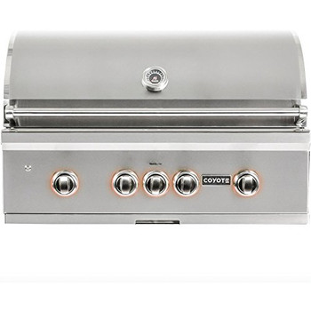 "Coyote 36"" Grill with Infinity Burners; Natural Gas"