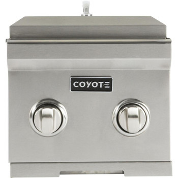 Coyote Double Side Burner; LP Gas