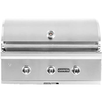 """Coyote 34"""" Grill with Infinity Burners; Natural Gas"""