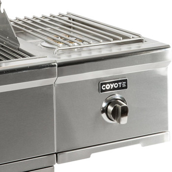 Coyote C1CSBNG Natural Gas Single Side Burner for Carts