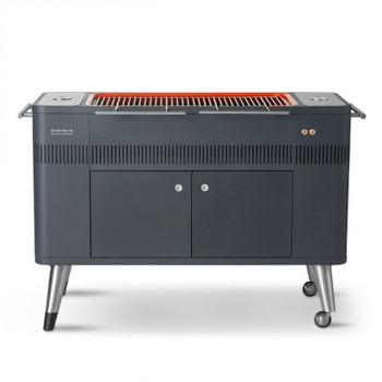 Everdure Hub Freestanding Charcoal Grill and Rotisserie