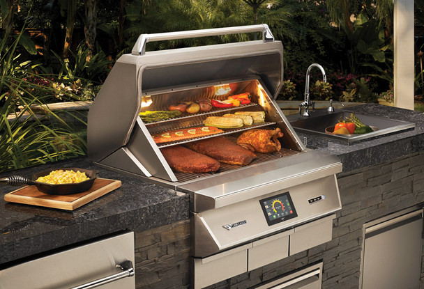Twin Eagles 36-Inch Built-In Wood Fired Pellet Grill & Smoker - TEPG36G