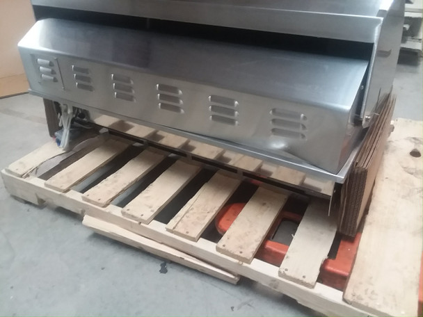S&D Blaze 5 Burner LTE Grill Built-In Natural Gas Grill with Lights