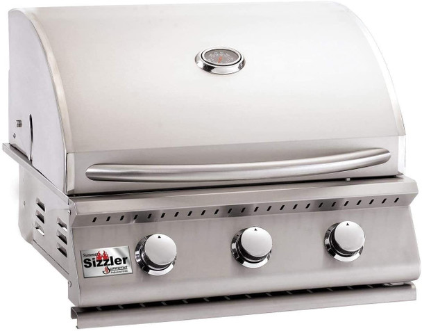 S&D | Summerset 26-Inch 3-Burner Built-In Propane Gas Grill