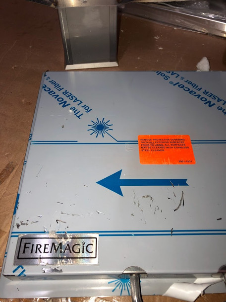 S&D Fire Magic 53816 Cut And Clean Combo Trash Chute With Cutting