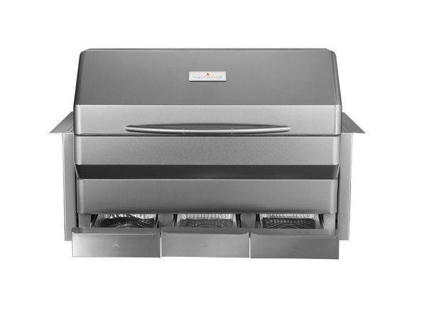 Memphis Grills Elite Wi-Fi Controlled 37-Inch 304 Stainless Steel Built-In Pellet Grill - VGB0002S