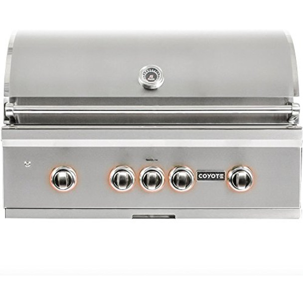 """Coyote 36"""" Grill with Infinity Burners; Natural Gas"""