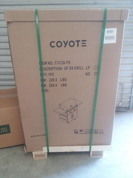 Coyote C-series 28-inch 2-burner Freestanding Propane Gas Grill - C1c28lp-fs