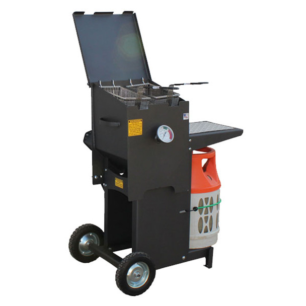Cajun Fryer FF2R-ST 4 Gallon 2 Basket Fryer – With Stand