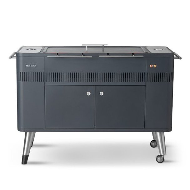 Everdure Hub Freestanding Charcoal Grill and Rotisserie (HBCE2BUS), 53.75-Inches