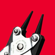 What are round nose pliers and what are they used for?