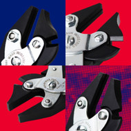 What are side cutter parallel pliers and what are they used for?