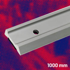 Aluminium Safety Straight Edge 1000 mm | Maun