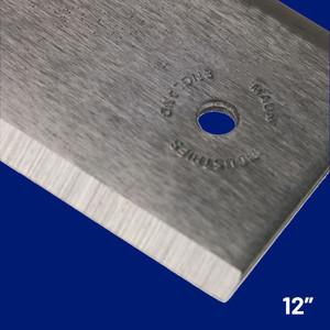 "Steel Straight Edge Imperial  12"" | Maun"